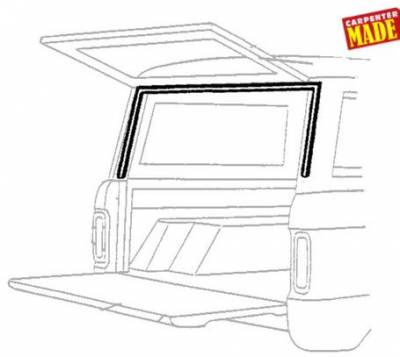 66-77 Classic Bronco - Classic Bronco Replacement Body Parts - Lift Gate Upper Seal 1966 - 68
