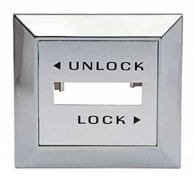 Bronco Parts - 80-96 TTB Bronco - Electric Door Lock Switch Bezel Right Hand 1981 - 86