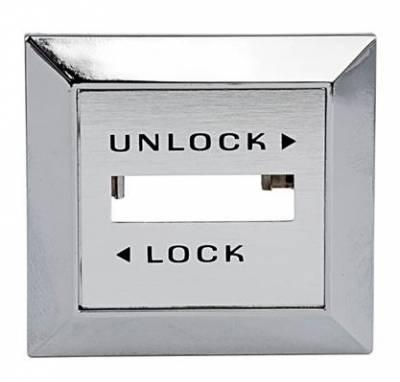 Bronco Parts - 80-96 TTB Bronco - Electric Door Lock Switch Bezel - Left Hand 1981 - 86