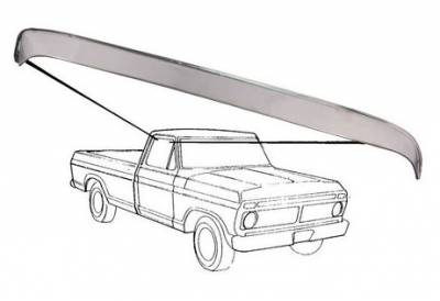 80-96 TTB Bronco - TTB Bronco Exterior - Window Vent Shade 1980 - 86
