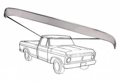 80-96 TTB Bronco - TTB Bronco Exterior - Window Vent Shade 1980 - 86