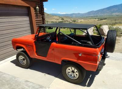 Parts By Vehicle - Bronco Parts - 66-77 Bronco Family Style King Topper