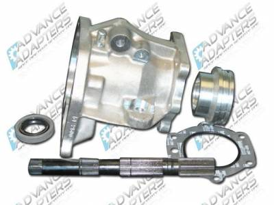 Advanced Adapters - Ford C4 3 speed automatic transmission to the 1966-77 Bronco Dana 20 transfer case, adapter kit.