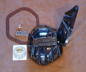Bronco Parts - 66-77 Early Bronco - Sexton Off-Road - D44 BRONCO SCRIPT DIFFERENTIAL COVER