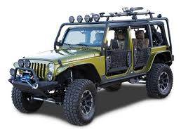 Parts for Jeep - 07-16 JK Wrangler - Wrangler JK Roll Cages, Body Armor, and Bumpers