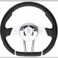 "80-96 TTB Bronco - TTB Bronco Steering - Sexton Off-Road - ""D""Shaped Steering Wheel"