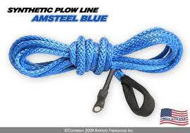 70-86 Jeep CJ - Jeep CJ Accessories - Sexton Off-Road - AmSteel Blue synthetic winch line