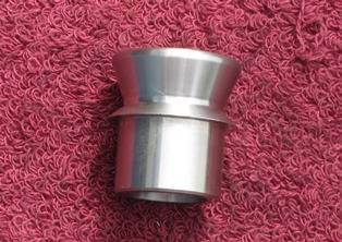 "Builder Components - Sexton Off-Road - 1.25"" Stainless Misalignment Spacer 3/4"" Bore"