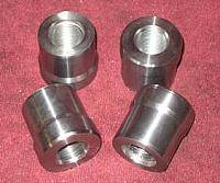 "Builder Components - 7/8"" Tube Adapter 1.5"" ID Tube"