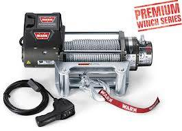 80-96 TTB Bronco - TTB Bronco Accessories - Warn Industires - Warn M8000 Electric Winch