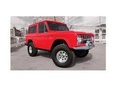 66-77 Early Bronco - Early Bronco Replacement Body Parts - Bushwacker - SOR Bronco Rear Fender Flares