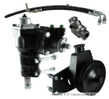 Steering - Sexton Off-Road - 66-77 Bronco Power Steering Conversion