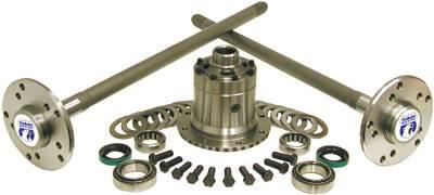 Rear Axle parts - Axle Kit - Rear - Yukon Gear & Axle - Yukon Ultimate 35 kit for c/clip axles with Detroit Locker