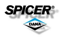 Drivetrain and Differential - Ring & Pinion Sets - Dana Spicer - Dana 44HD 3.55 ring & pinion kit