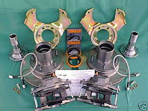 66-77 Classic Bronco - Classic Bronco Brakes - Sexton Off-Road - Front Disc Brake Conversion Kit for 66-775 Ford Bronco